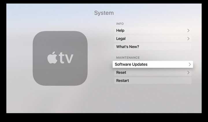 apple tv 3 update not successful at dating