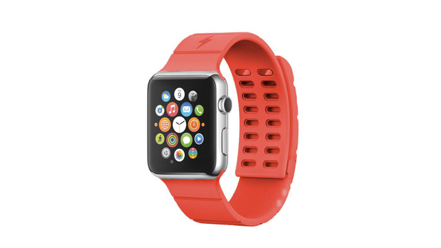 The Reserve Strap powers down after a change is made to the Apple Watch software