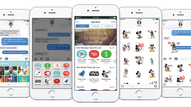 Do More, See More, Send More With the New iMessage in iOS 10