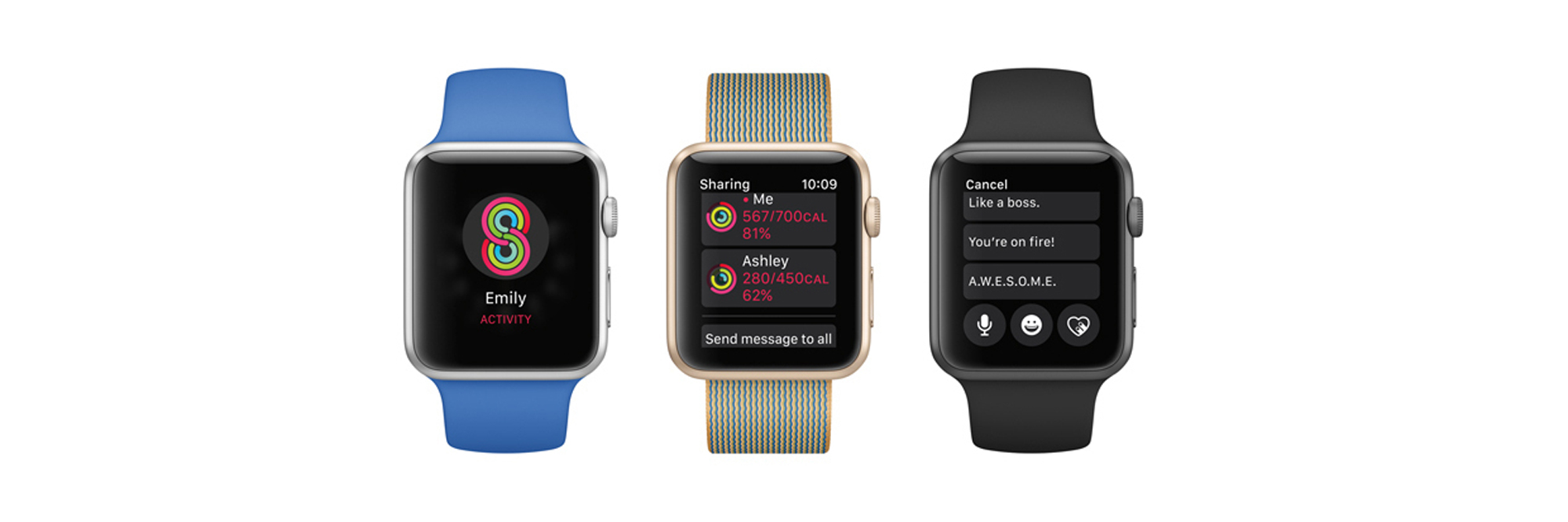 photo image Sharing Apple Watch Activity with Friends and Family