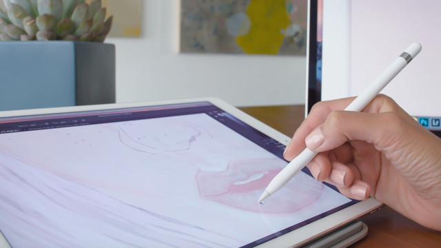 A New Duet Display Feature Turns Any iPad Pro Into a Drawing Tablet