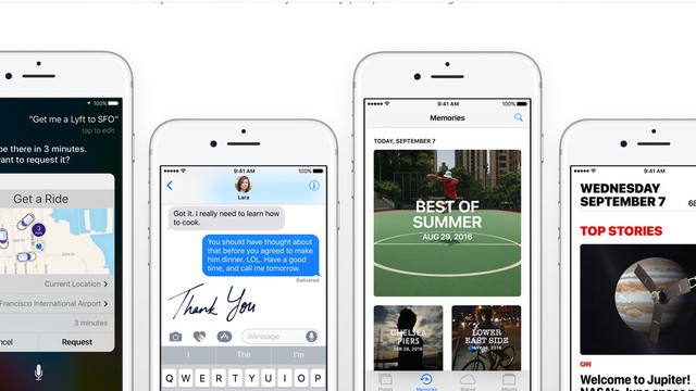 Apple Seeds the Fourth Beta Version of iOS 10.2 to Registered Developers