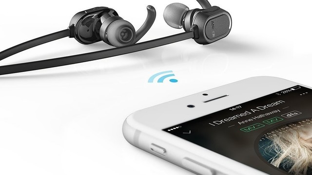 Grab a Pair of Anker SoundBuds Bluetooth Headphones for Less Than $20