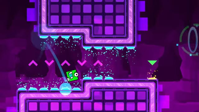 Geometry Dash World Challenges You to Tap to the Beat