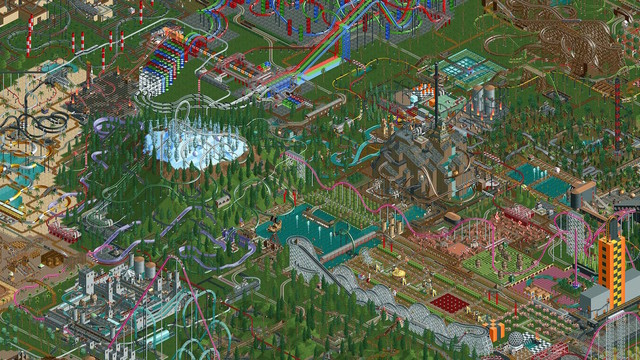 RollerCoaster Tycoon Classic Brings the Original PC Games to iOS