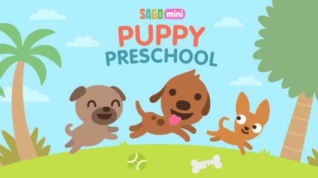 Sago Mini Puppy Preschool Entertains and Teaches Your Child