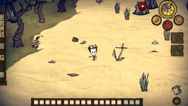 Help Wilson Survive in Don't Starve: Shipwrecked, Now on App Store