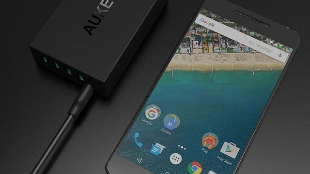This AUKEY USB Charger with USB C Port Is 38 Percent Off