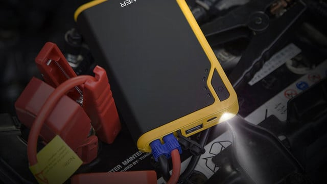 This DBPower 8000mAh External Battery and Portable Car Jump Starter is at its All-Time Low