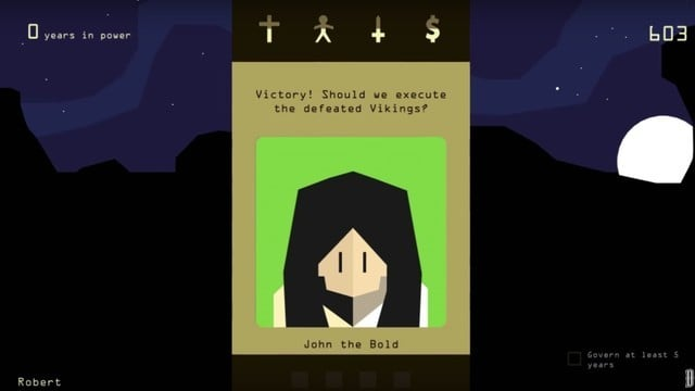 Reigns 2, Sequel to Hit Tinder-style Roleplaying Game, Coming Soon