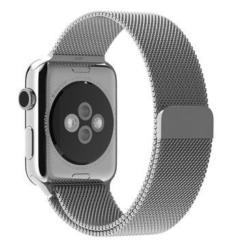 The Best Non-Apple Silver The Best Replica Milanese Loop Apple Watch Band