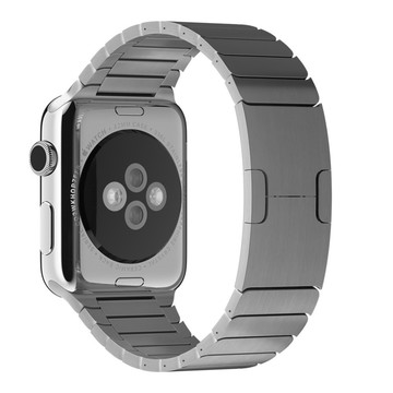 The Best Non-Apple Silver The Best Replica Link Bracelets Apple Watch Band