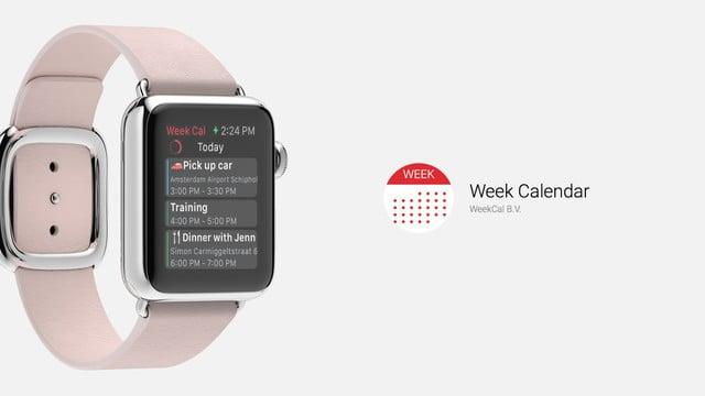 Week Calendar Offers More Features Than Stock Calendar App