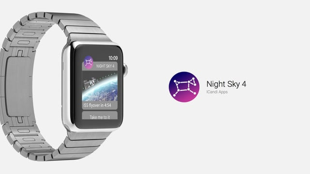 Night Sky 4 Lets You Gaze at the Stars From Your Wrist