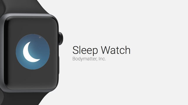 Sleep Watch Automatically Tracks Your Sleep
